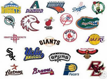 sports teams eps logos